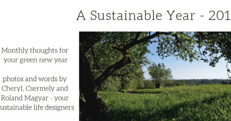 2019 Printable Calendar – A Sustainable Year