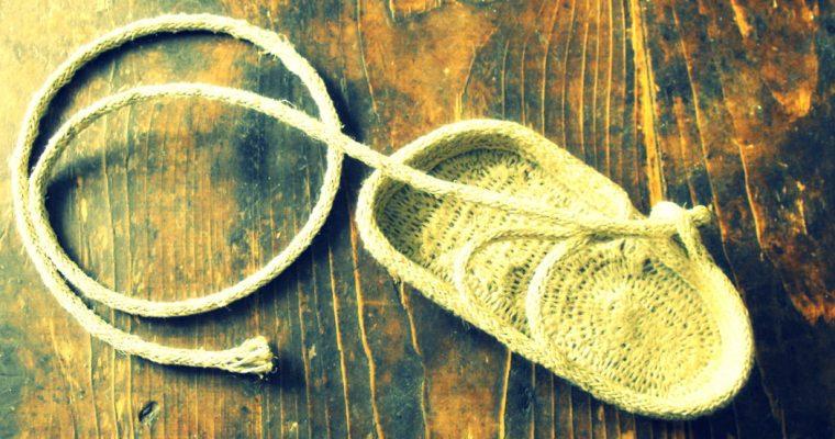Earthing sandal patterns