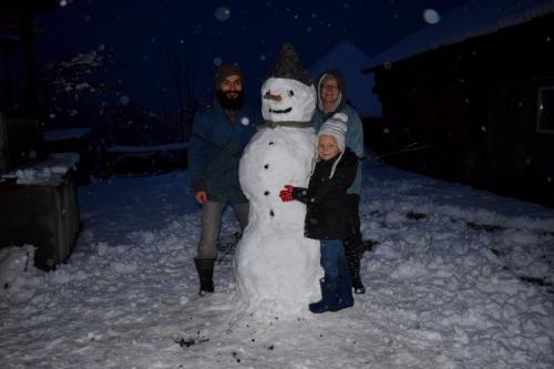 Breb winter snowman